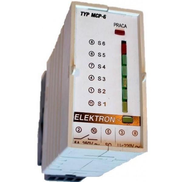 """Czujnik poziomu wody """"MCP-6/1""""-pomiar 6-ciu poziomów"""