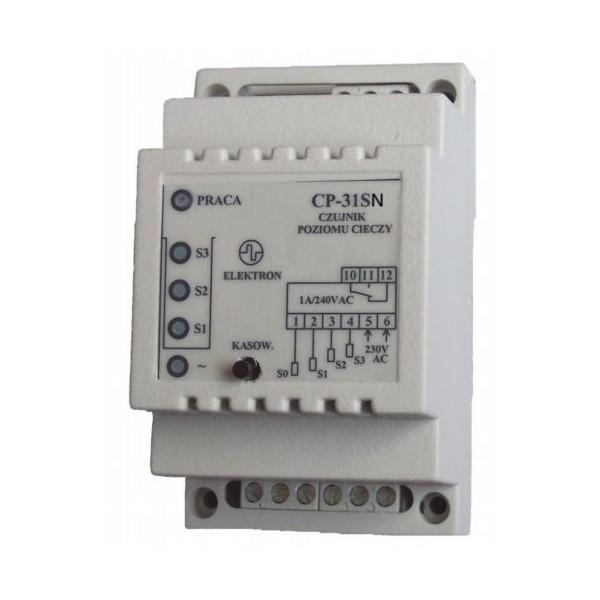 """Czujnik poziomu """"CP-31SN""""-pomiar 3 poziomów-ster.napełnianiem"""