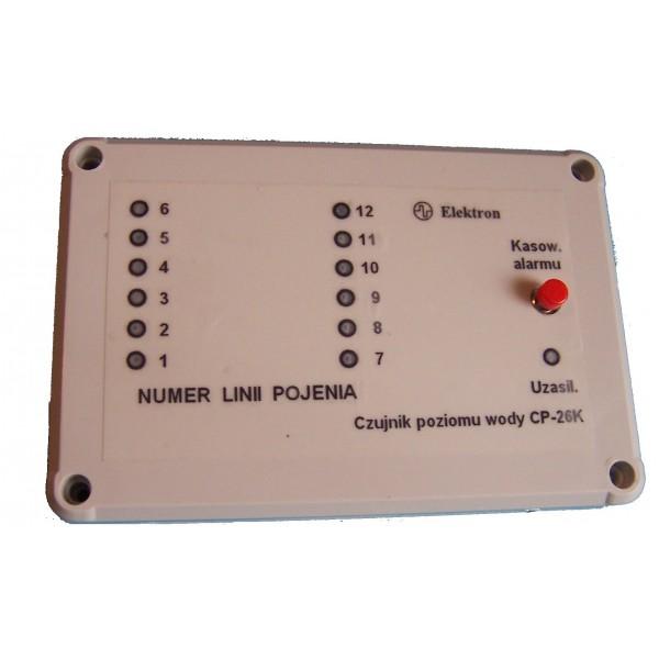 Sygnalizator braku wody w systemach pojenia (poidła) drobiu
