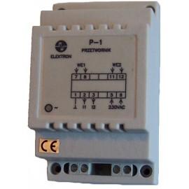 Podwójny przetwornik prądowy P1 - 0...20A/4...20mA lub 0...10V