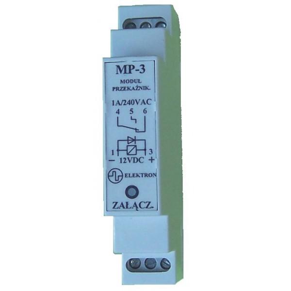 """Przekaźnik """"MP-3"""" 12V- obciążalność 240V/1A"""