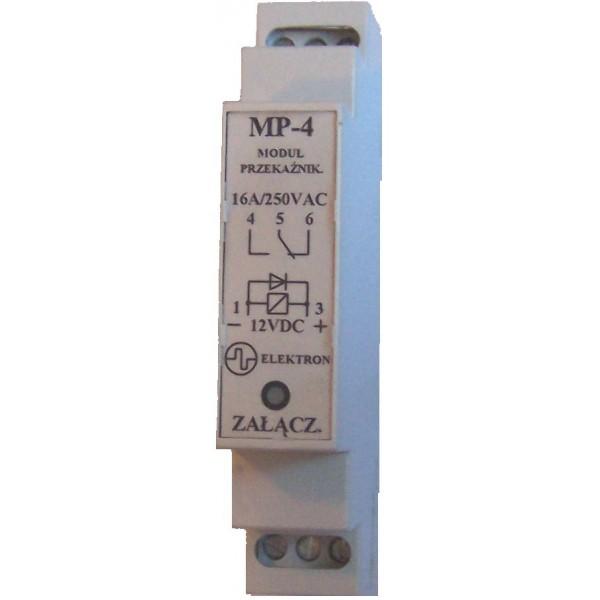 """Przekaźnik """"MP-4"""" 12V- obciążalność 240V/16A"""
