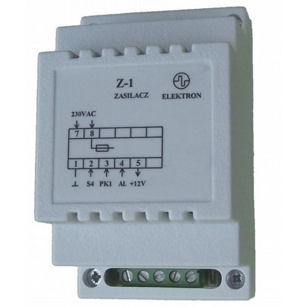"""Zasilacz """"Z-1"""" 230/12V do sterowników SP-4 i SP-5"""