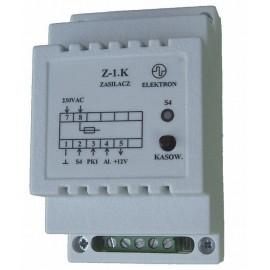 "Zasilacz ""Z-1.K"" - 230/12V do sterowników SP-4 i SP-5"