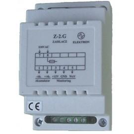 """Zasilacz typ """"Z-2.G"""" 230/12V-0,6A -buforowy"""