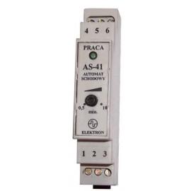 Automat schodowy AS-41 z zabezpieczeniem trwałego załączenia