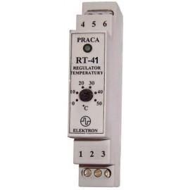"""Regulator temperatury """"RT-41/0...50 st.C"""" z czujnikiem"""