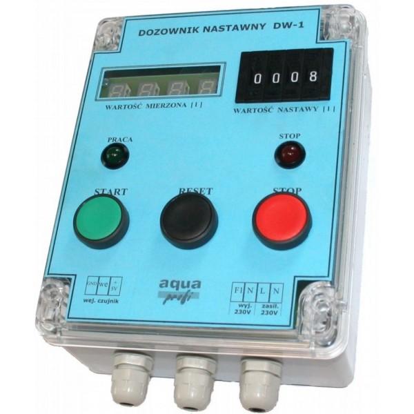 DW-1 z elektrozaworem i wodomierzem 6/4'- co 1 litr