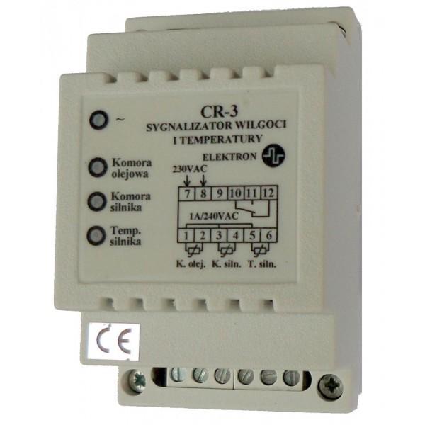 Sygnalizator wilgoci i temperatury silników pomp CR-3