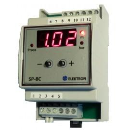 """Sterownik 1 pompy """"SP-8C""""-sterowanie sygnałem 4...20mA"""