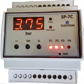 """Sterownik 2-4 pomp """"SP-7.1""""-ster. przetwornikiem ciśnienia"""