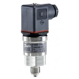 Przetwornik ciśnienia Danfoss MBS1700 0-10bar, 4...20mA, 1/2'