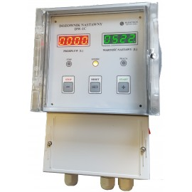 DW-1C + wodomierz + elektrozawór -komplet na 2' dozowanie co 1 litr.
